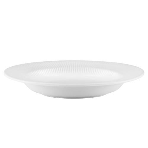 Тарелка суповая овальная Legio Nova, большая, белая