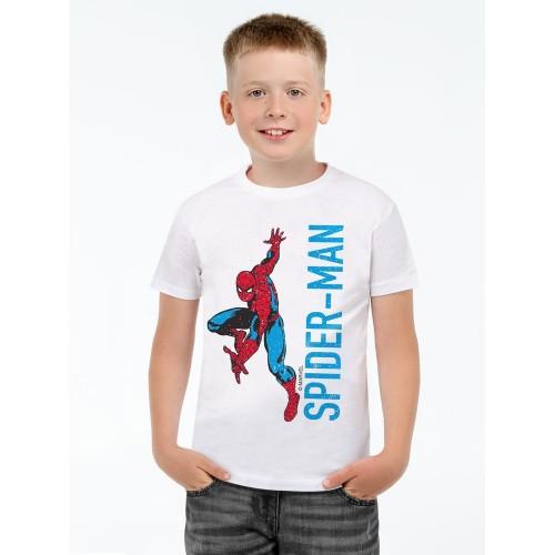 Футболка детская Spider-Man, белая