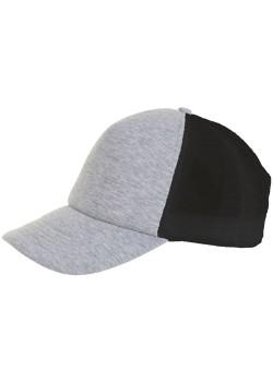 Бейсболка DODGE, серый меланж с черным