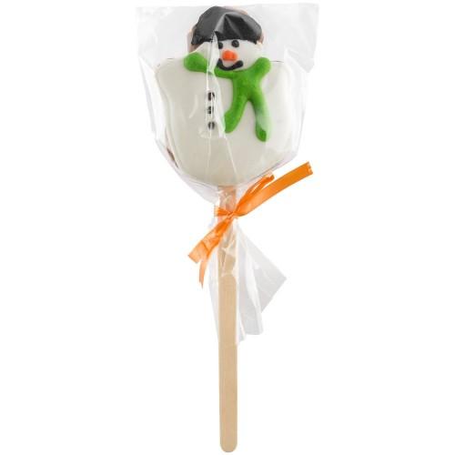 Печенье Sweetish Mini, в форме снеговика
