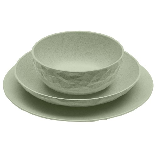Тарелка Club Organic, зеленая