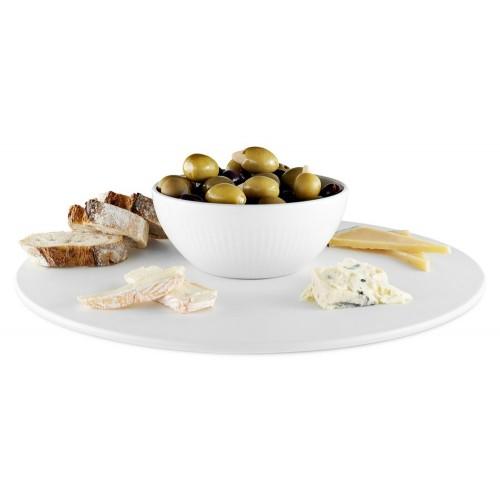 Блюдо для торта или закусок Legio Nova, белое