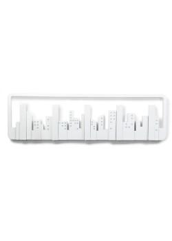 Вешалка настенная Skyline, белая