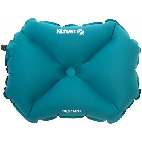 Надувная подушка Pillow X Large, бирюзовая