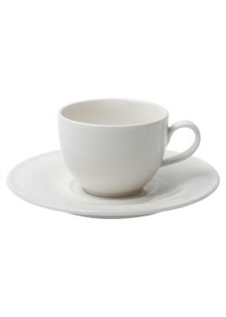 Кофейная пара Maxim Diamond для капучино, молочно-белая