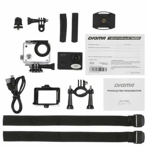 Экшн-камера Digma DiCam 170, черная