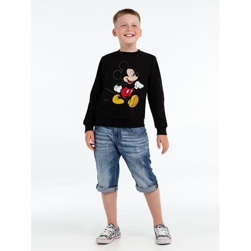 Толстовка детская «Микки Маус. Easygoing», черная