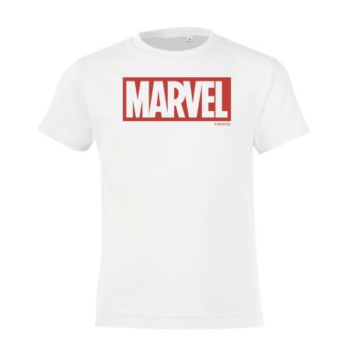 Футболка детская Marvel, белая