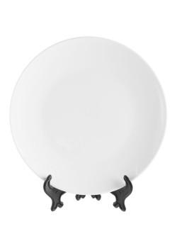 Тарелка Wonder для сублимационной печати, белая