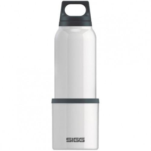 Термобутылка с чашкой Hot & Cold 500, белая