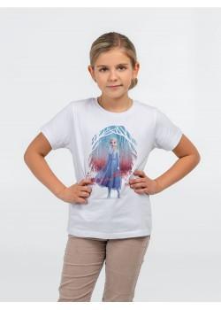 Футболка детская Elsa, белая