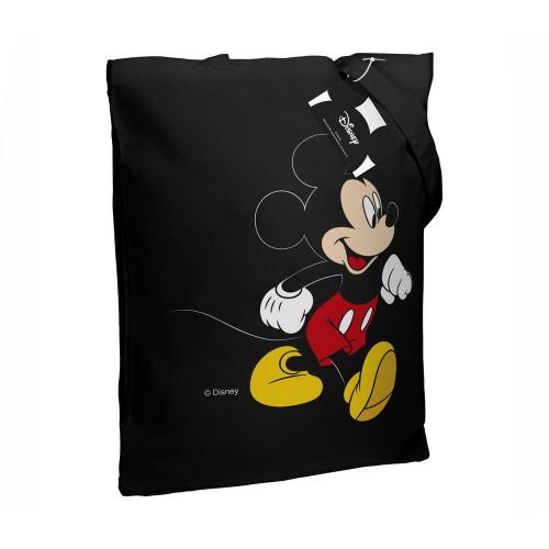 Холщовая сумка «Микки Маус. Easygoing», черная