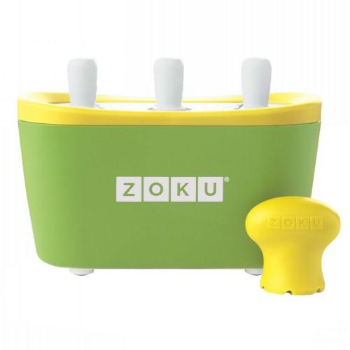 Набор для приготовления мороженого Triple Quick Pop Maker, зеленый