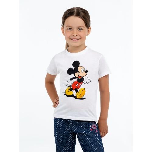 Футболка детская «Микки Маус. Easygoing», белая
