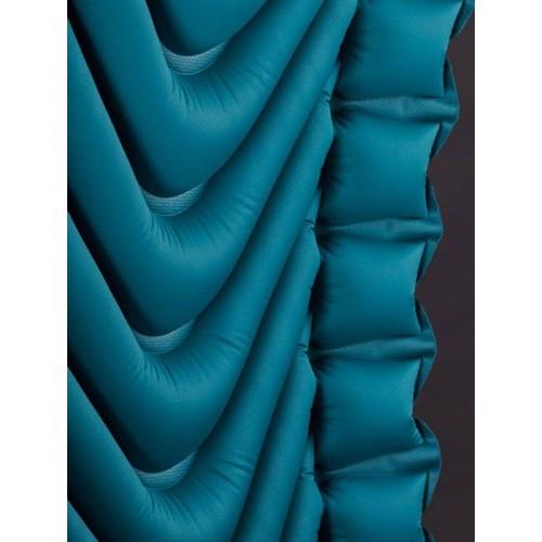 Надувной коврик Armored V, серо-голубой