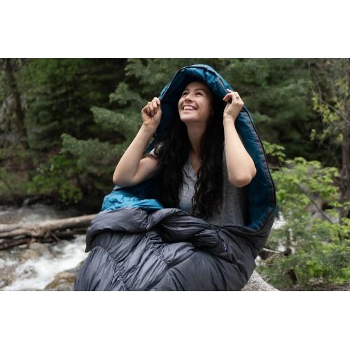 Спальный мешок Klymit KSB 35, серо-голубой