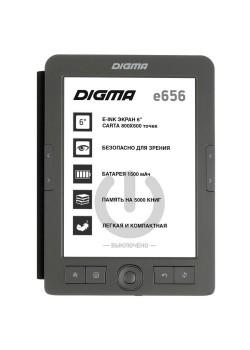 Электронная книга Digma E656, темно-серая