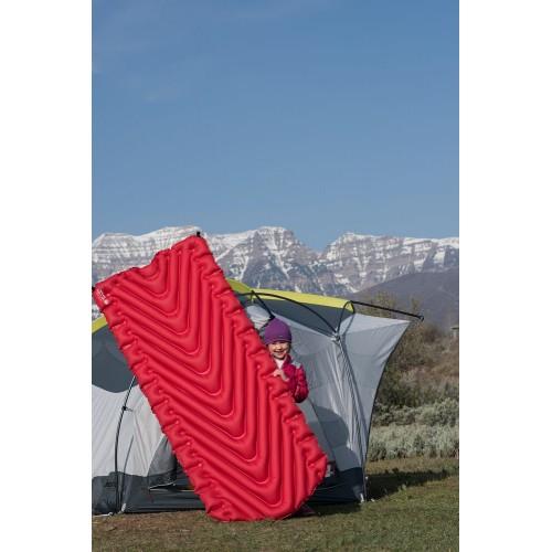 Надувной коврик Insulated Static V Luxe, красный