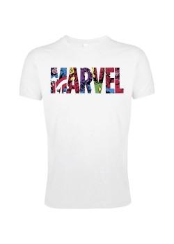 Футболка Marvel Avengers, белая