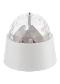 Проекционный светильник Gauss Disco, настольный, белый