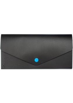 Органайзер для путешествий Envelope, черный с голубым