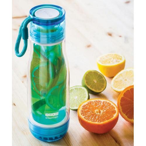 Бутылка для воды Zoku, голубая