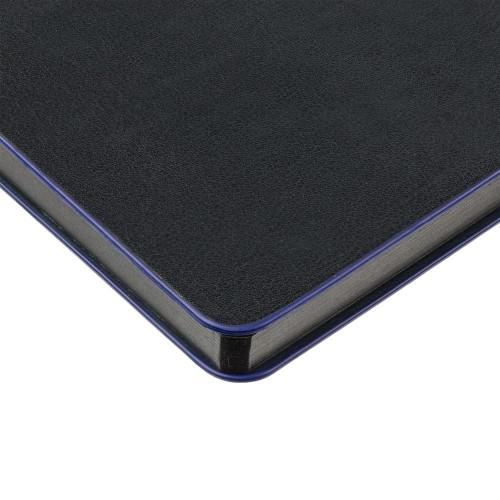 Блокнот Trait в точку, черно-синий