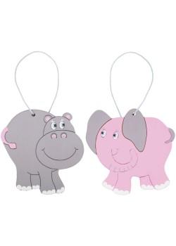 Набор для творчества «Чудесные животные. Африка: слон и бегемот»