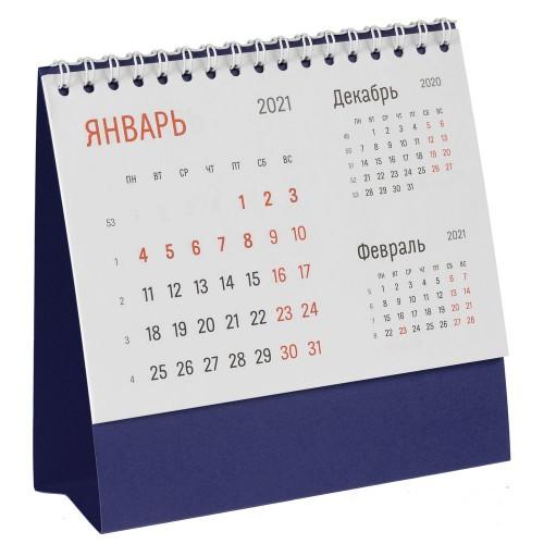 Календарь настольный Nettuno, синий