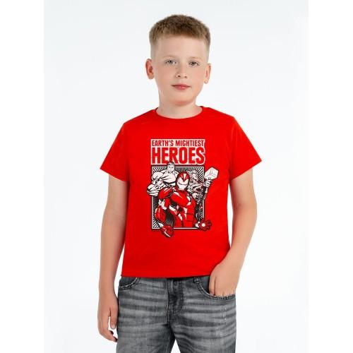 Футболка детская Marvel, красная