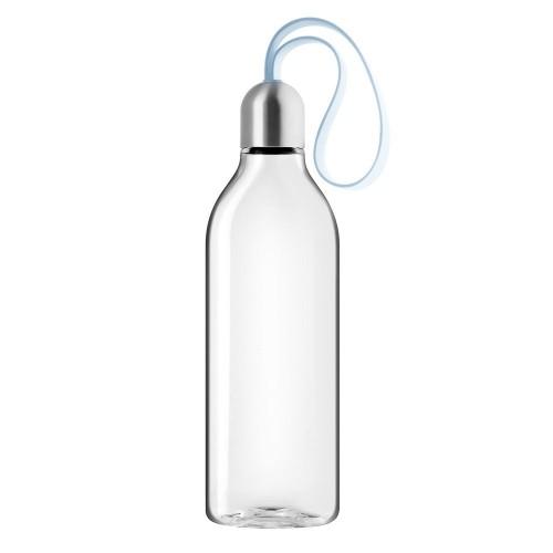 Бутылка плоская Backpack, голубая
