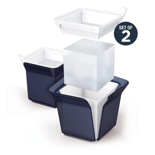 Форма для льда Cube, черная