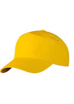 Бейсболка Unit Promo, желтая