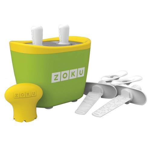 Набор для приготовления мороженого Duo Quick Pop Maker, зеленый
