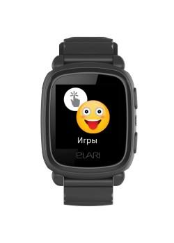Умные часы для детей Elari KidPhone 2, черные