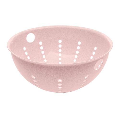 Дуршлаг Palsby Organic, большой, розовый