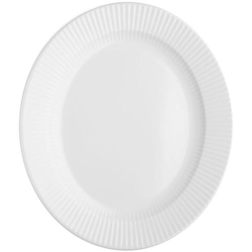 Тарелка овальная Legio Nova, белая
