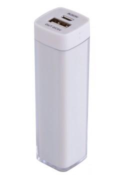 Внешний аккумулятор Bar, 2200 мАч, ver.2, белый