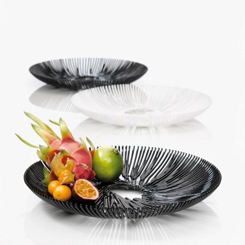 Блюдо для фруктов Anemone, черное