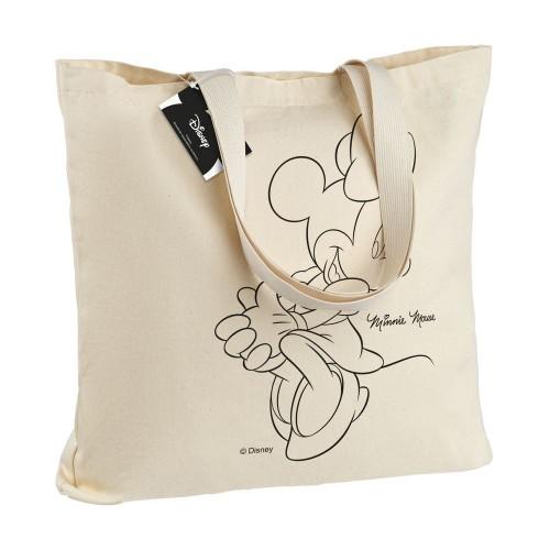 Холщовая сумка «Минни Маус. Lovely», неокрашенная