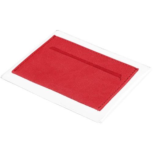 Чехол для карточек Twill, красный