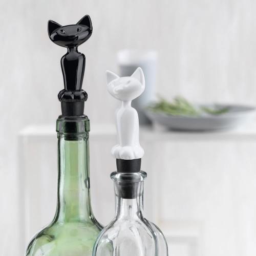 Пробка для бутылки Miaou, белая