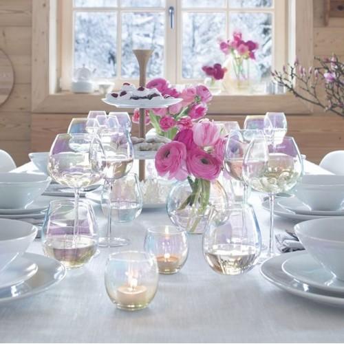 Набор бокалов для шампанского Pearl Saucer