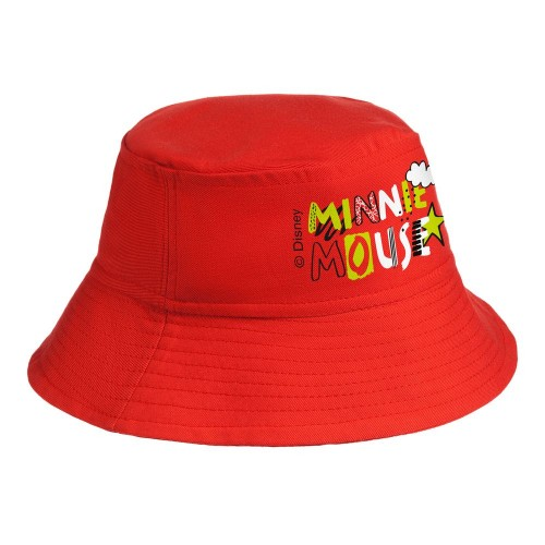 Панама детская «Минни Маус», красная