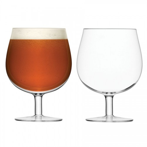 Набор округлых бокалов для пива Bar