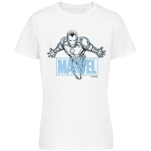 Футболка Iron Man Sketch, белая