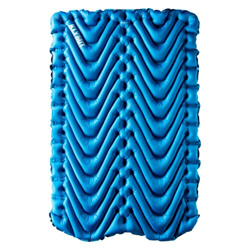 Надувной коврик Static V Double, синий