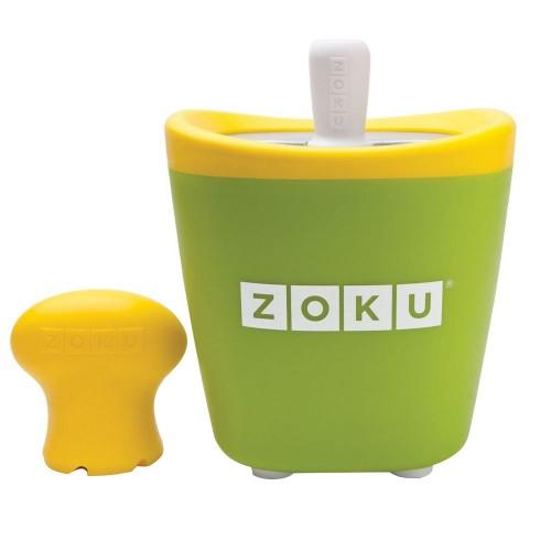 Набор для приготовления мороженого Single Quick Pop Maker, зеленый