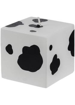 Свеча Spotted Cow, куб