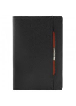 Обложка для паспорта Inserto, черная